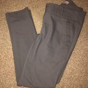 Gray Ann Taylor LOFT dress pants